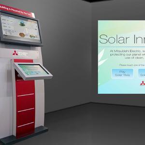 Mitsubishi Electric- Kiosk