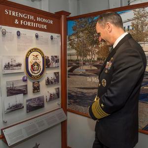9/11 Tribute Room - USS Arlington