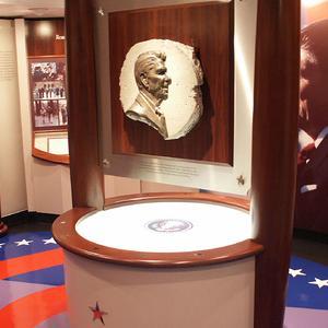 USS Reagan - Tribute Room
